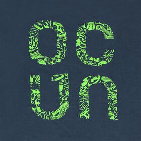 Ocun Bamboo Gear t-shirt Heren blauw